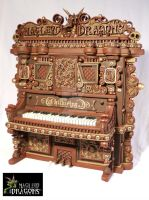 Old World Piano by MacLeodDragons