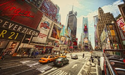 Times Square by HerrBuchta