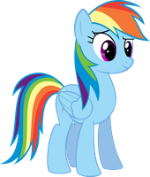 Rainbow is Proud (Vector) by Dropgasm