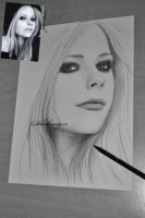 Avril Lavigne sketch by perlaque
