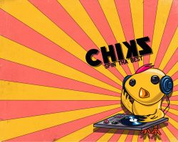 Chiks Spin Tha Best by djnjpendragon