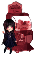 [Gashapon] Yandere Love [CLOSED] by ShatteredSightAdopts