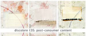 post-consumer content by discolore