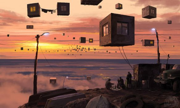 City P. Suburb by alexandreev