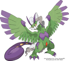 Tornadus Therian Forme