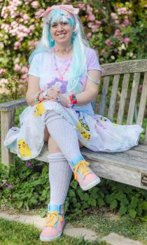 My First Fairy Kei Outfit by moonymonster