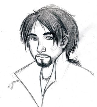 Ezio Sketch by emietook