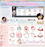 Theme Molang For Iconpackager by MinnieKawaiiTutos