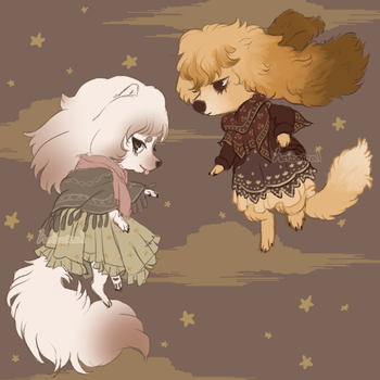 Fashion Dogs by Herboreal