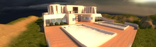 Modern Source House by Blinxis