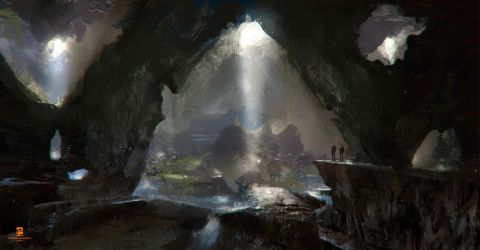 20150723 Inside The Cave by psdeluxe