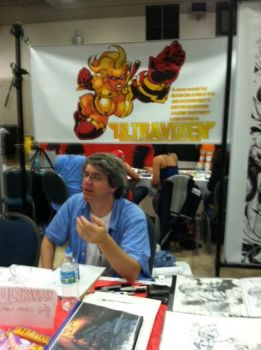 Jed at Super Con by MaelstromMediaComics
