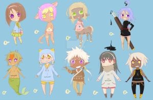 unsold adopts_LOWER PRICES_[OPEN] by YumiKFPhoto