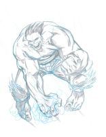 Hulk Sketch WIP by bathill8