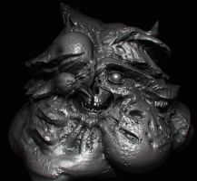 mutated high poly by Bawarner
