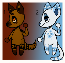 *CLOSED* Anthro Adopts by SweetZtea