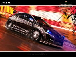 Ford Focus XFr - Team Hungary4 by Geza60