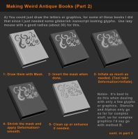 Zbrush Tutorial -  Books and Detailing Props P2 by HecM