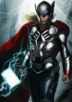 Thor the Thunder God by Kevin-Glint