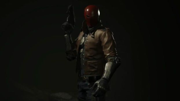 Red Hood Injustice 2 by Gizmochillin