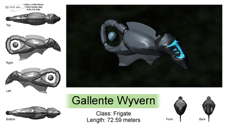 Gallente Wyvern by Jetrunner