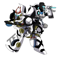 Jazz and Prowl TFN sticker by LyricaBelachium
