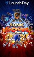 Sonic boom fire and ice! by Clemontiscute123