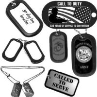 Dog tag Brushes by Chrippy