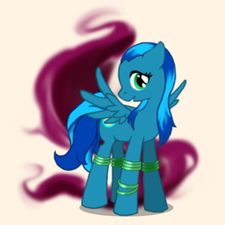 MLP OC: Bluefire Burst for FlaminghotAces by MakoServitor