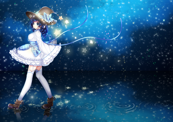 [PRINT AVAILABLE] [C] starry girl by Awato