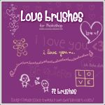 Love brushes by stardixa-resources