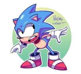 Sonic (Colours) by Ziggyfin