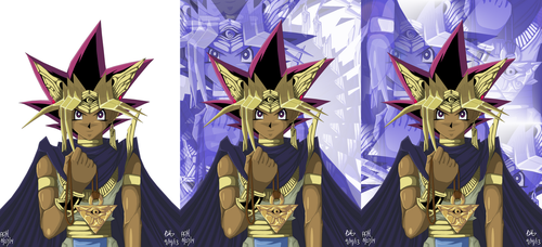 Pharaoh Yugi - Collab With ArtWorx88 by usagisailormoon20