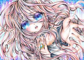 IA from Vocaloid ~ by LumilYuu