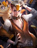 Meowth by sakimichan