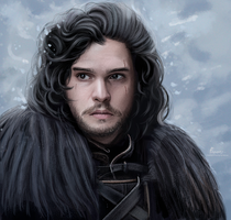 Jon Snow by fawwaz1
