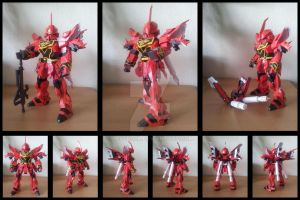 MSN-06 Sinanju SD by Destro2k