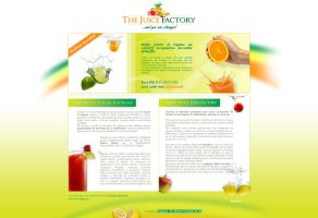 The Juice Factory new website by anca-v