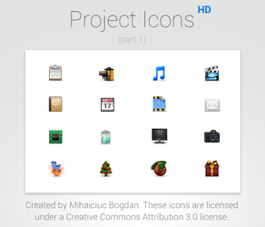 Project Icons HD (Part 1) by bogo-d