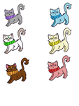 Cat adopts (10 points each) [Open] by Kay-the-lion