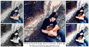 Photoshop Actions, Set 8 by TheYummyOne