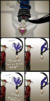 Hat fight 4 by KayGee-Doodles