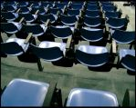 Blue Blue chairs by mortichro