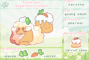 Carotte Registration Sheet by plushpon