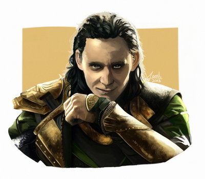 Marvel: Loki by VonVanil