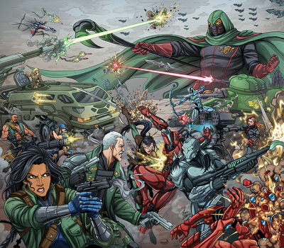 Freedom Squadron Player Cover by phil-cho