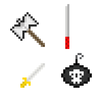 Weapon List - Comission work by CaptainToog