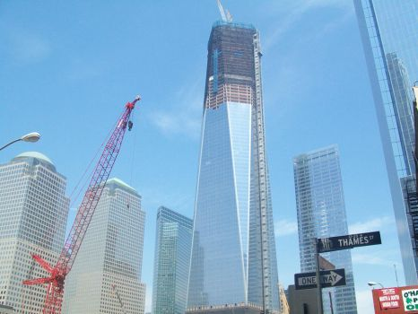 The Freedom Tower (almost) by Doodlepop212