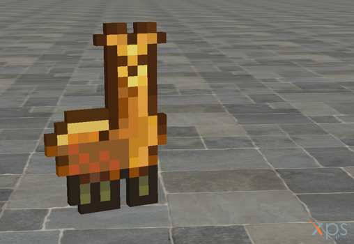 Llama Badge for XNALara by Satans-Comrade