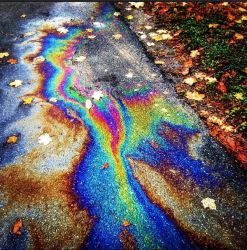 Beautiful Gas Spill by elephanza